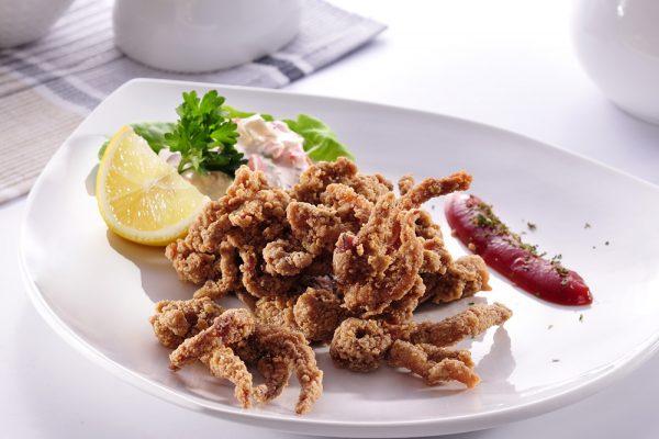 Crunchy Spiced Squid