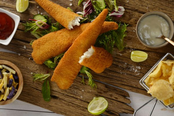 Organic Crumbed Fish