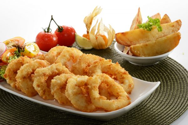Ovenable Crumbed Squid Ring