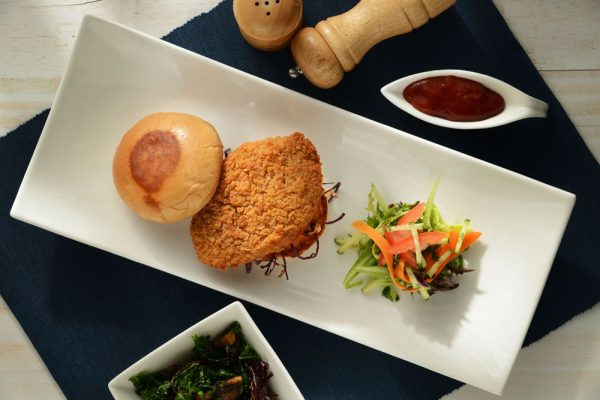 Southern Fried Barramundi Burger