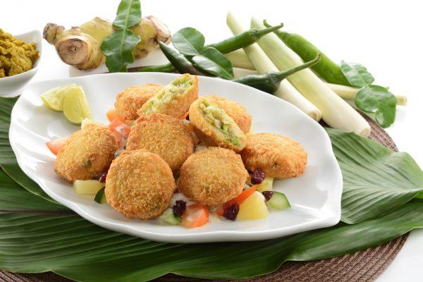 Thai Green Curry Fish Cake
